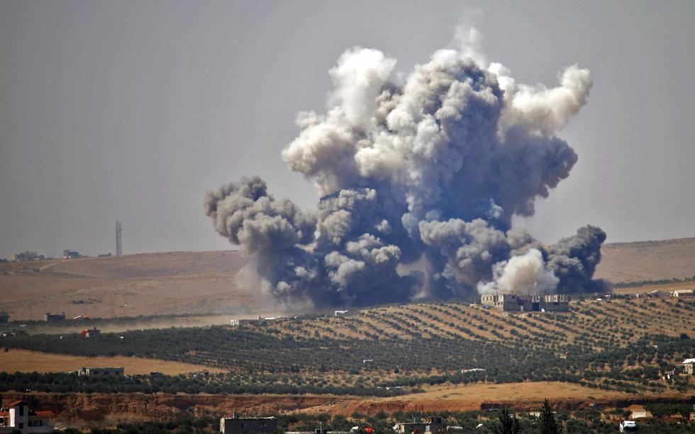 Air strikes pummel Syria's Daraa after talks with rebels break down