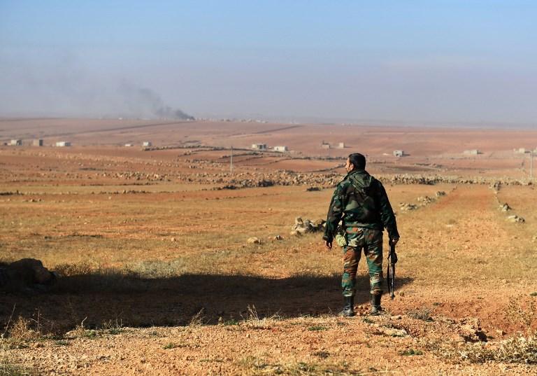 Blast rocks Syria area hosting Iran-backed fighters