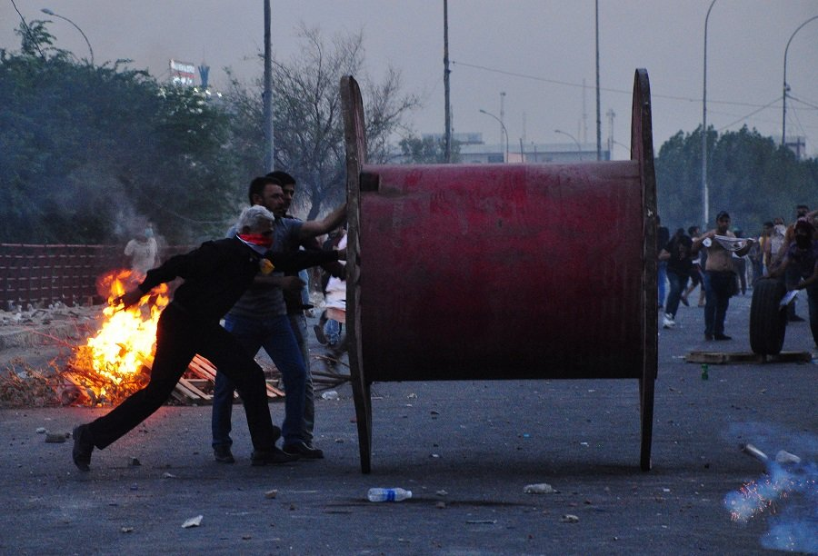Iraqi protesters clash with security forces over neglect