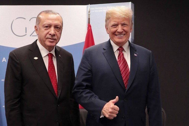 Trump says he discussed 'highly coordinated' Syria pullout with Erdogan