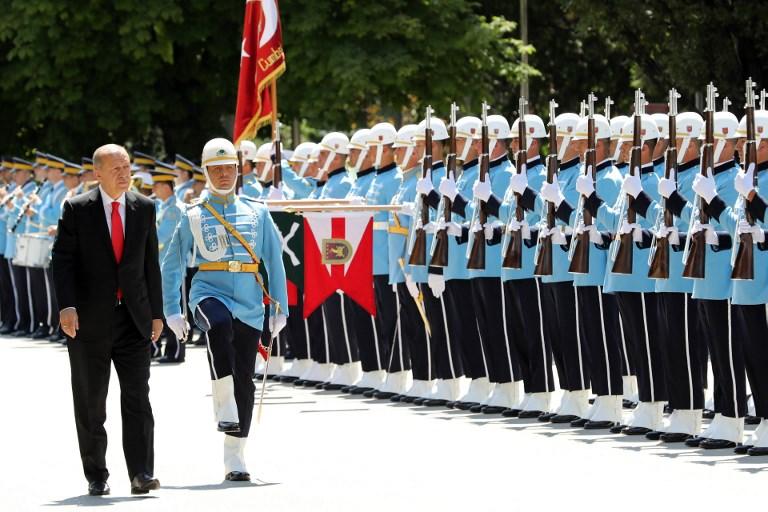 Erdogan to assume new powers on Monday, tighten control over Turkey