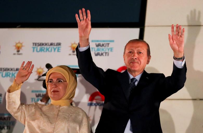 Erdogan is declared winner of Turkey's presidential election