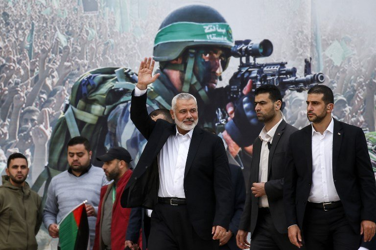 Hamas calls for Palestinian unity as it celebrates founding