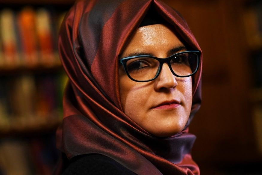'He did the right thing': Hatice Cengiz remembers fiancee Jamal Khashoggi