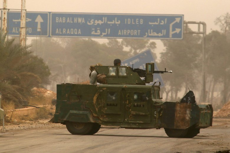 Syrian rebels withdraw heavy weaponry from Idlib frontline