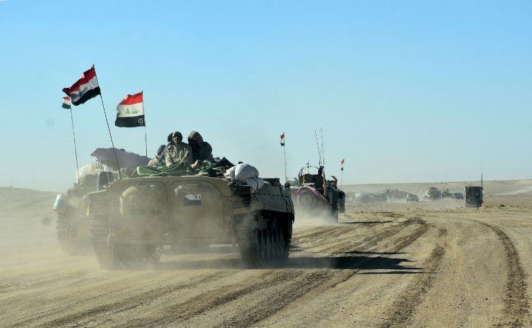 Iraq begins building fence on Syria border to keep out Islamic State fighters