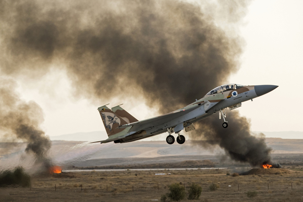 Israel launches attacks and shoots down missile inside Syria | Middle East Eye