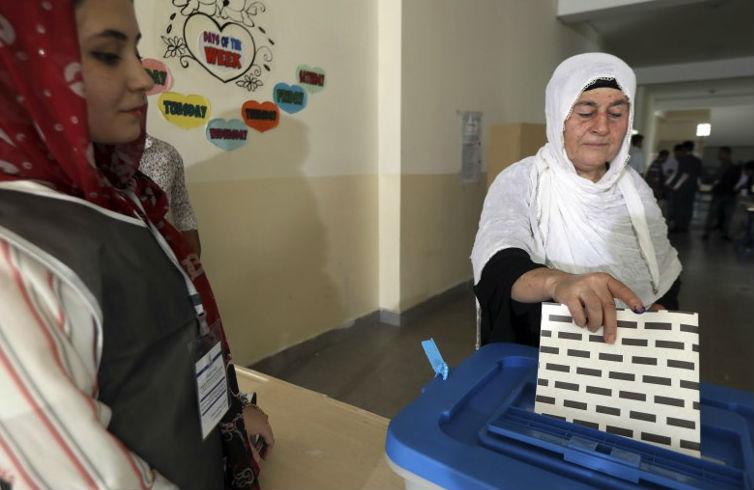 Voting begins to elect new parliament in Iraq's Kurdish region