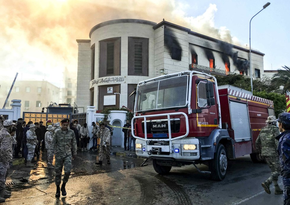 IS-claimed attack on Libya foreign ministry leaves several dead