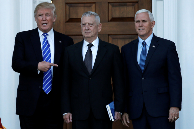 US Secretary of Defense James Mattis announces resignation