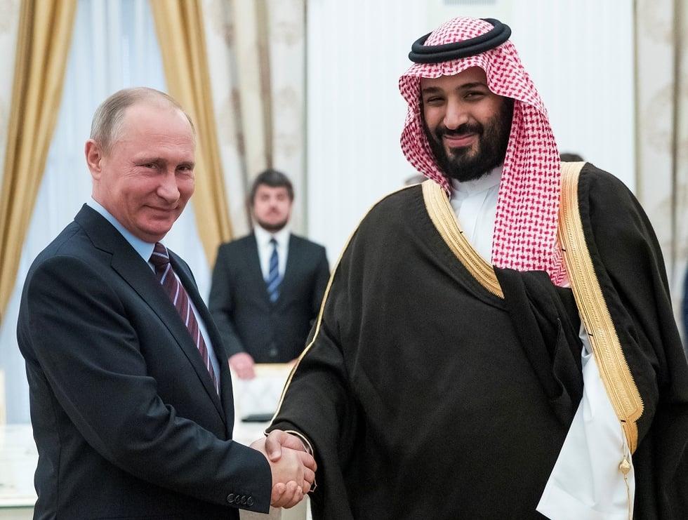 Putin a 'role model' for Mohammed bin Salman: Saudi opposition source