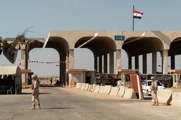 Syria says it will reopen vital Nassib border crossing with Jordan on 10 October