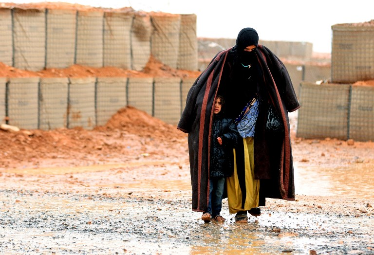 Russia, US and Jordan in talks on emptying Syria's Rukban refugee camp