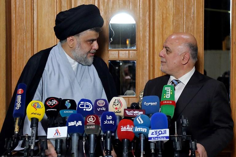 Abadi, Sadr alliance brings new Iraq government step closer