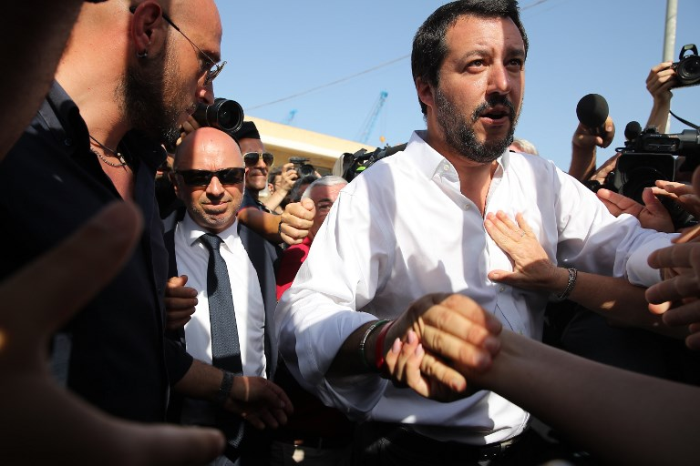 Italy cannot be 'Europe's refugee camp', says new Deputy PM Salvini