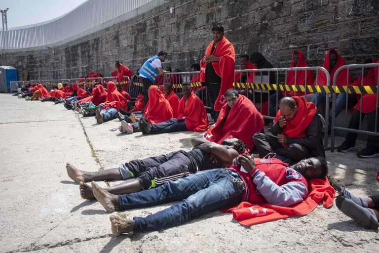 Hundreds rescued in Mediterranean on their way to Spain, Moroccan navy says