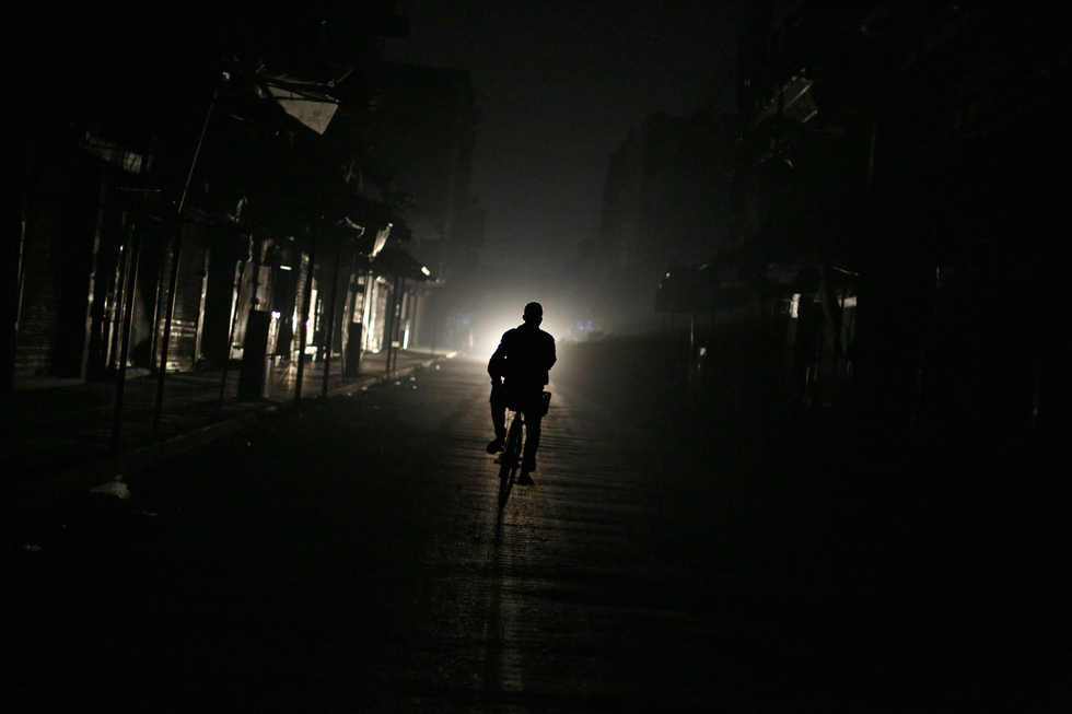 Power Cut Leaves Whole Of Syria Without Electricity