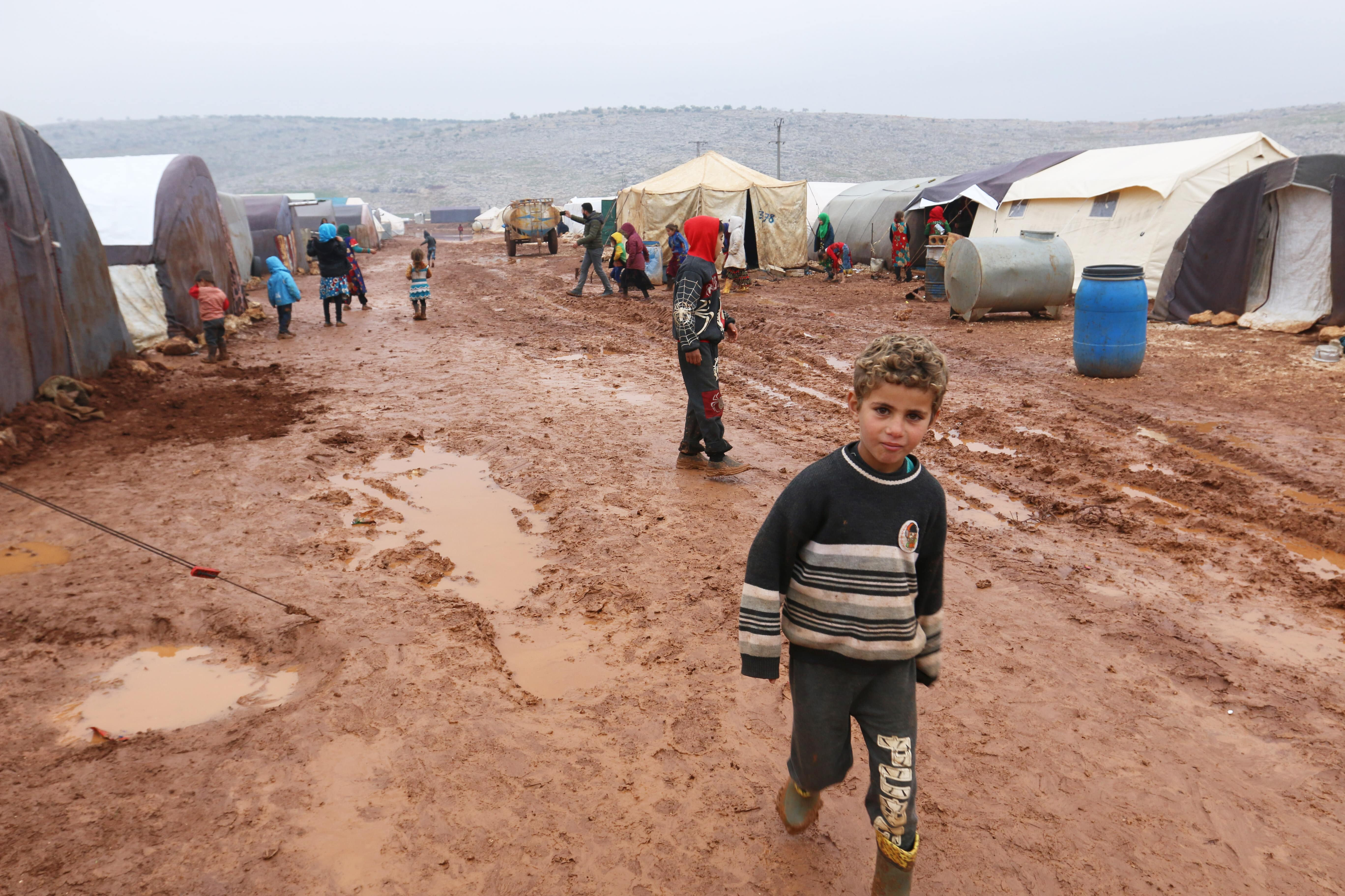Thousands of Syrians have been without running water since last week