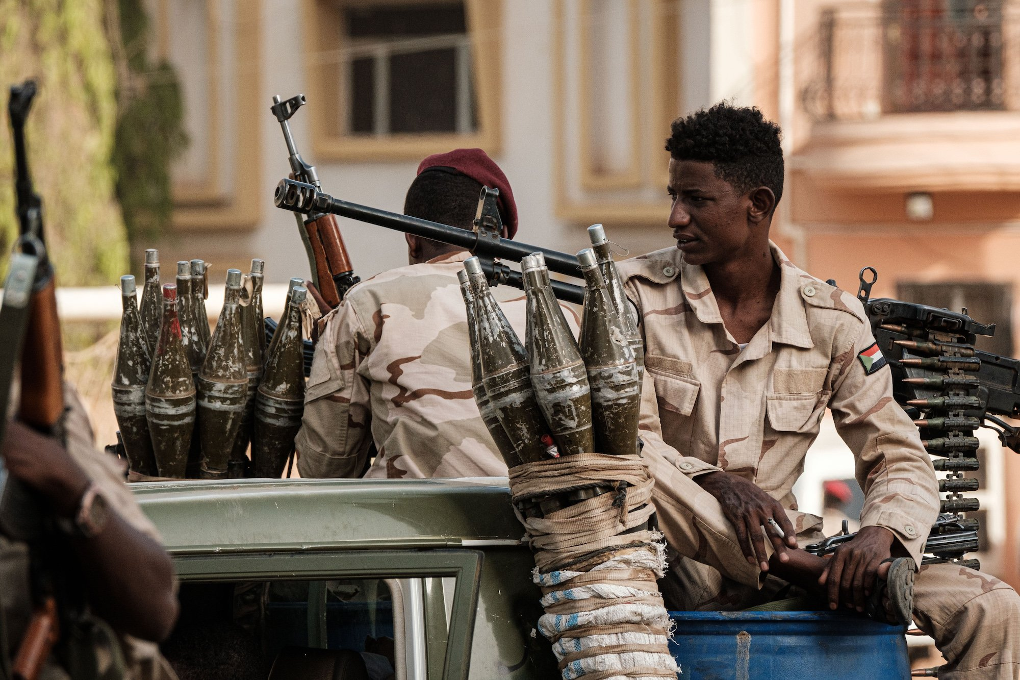 Gold, weapons, fighters: Sudanese Janjaweed's international path to power