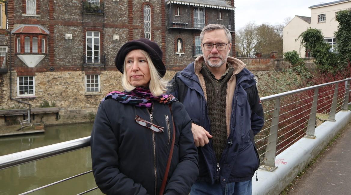 Sally Lane and John Letts