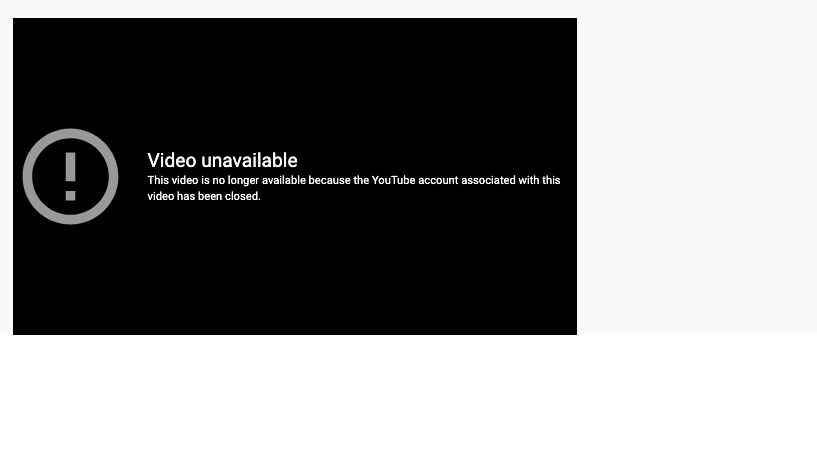 Press TV UK's news reports and documentaries have been permanently deleted because of the account closure (Screengrab)