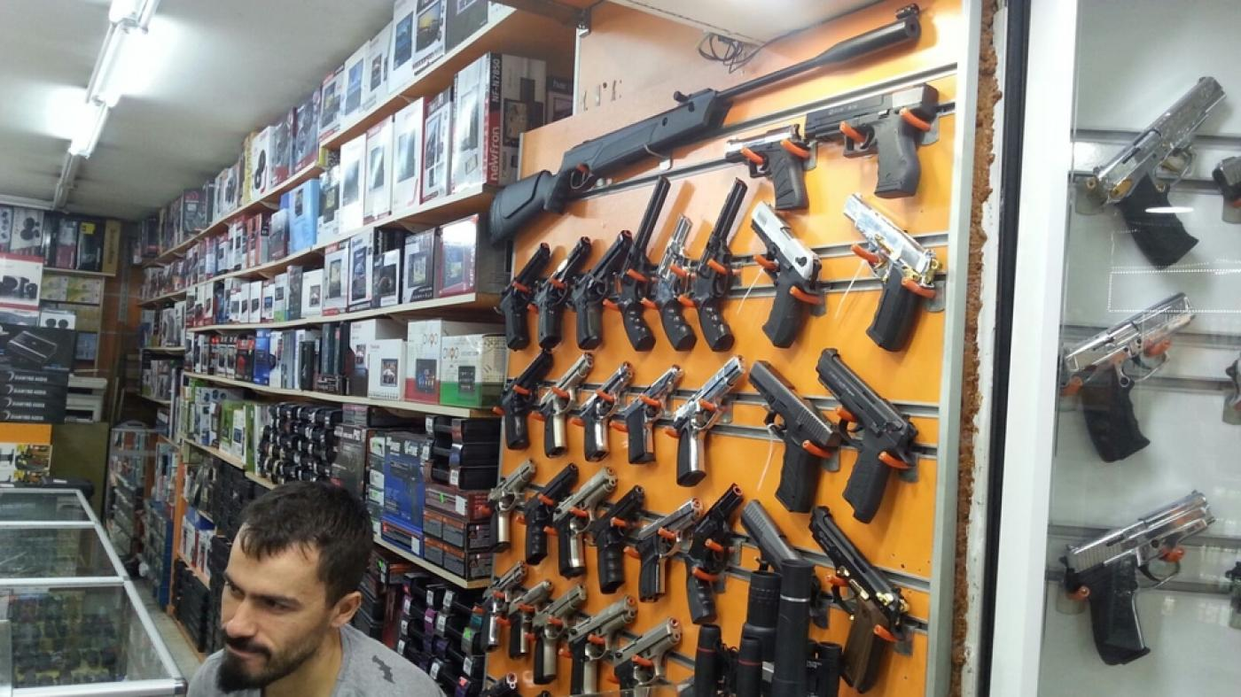 Gun Shop in Turkey