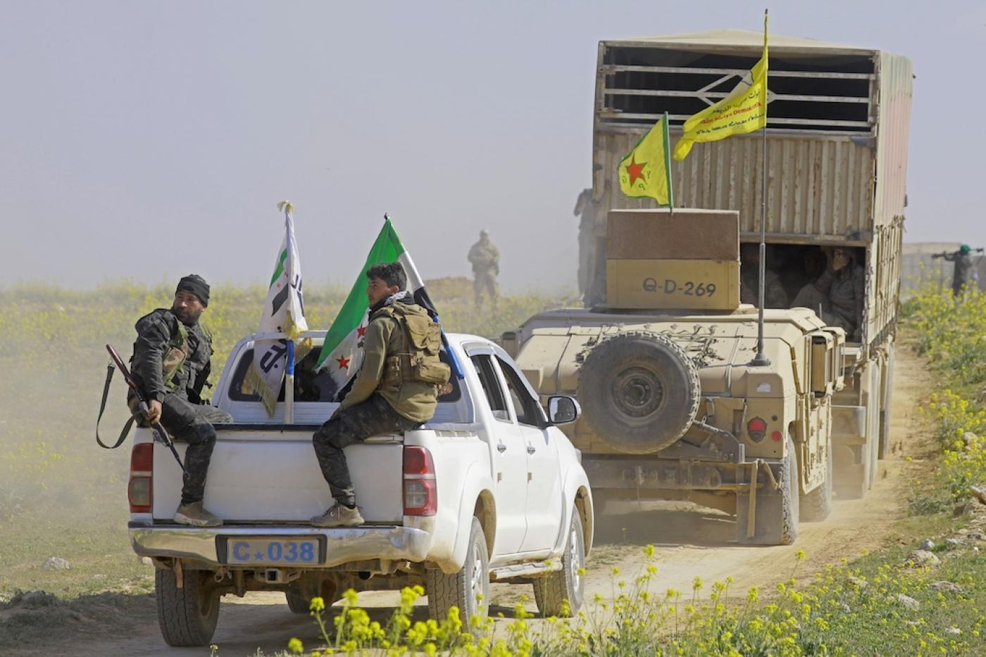 Backed SDF gave 20 Islamic State fighters to Iraq, mostly French citizens