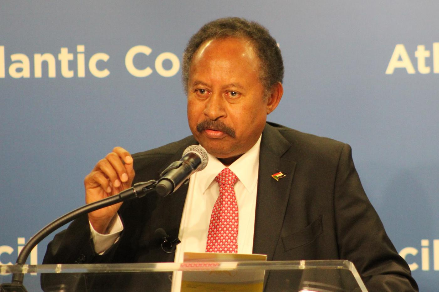 PM Abdalla Hamdok has been pushing to restore ties with Washington
