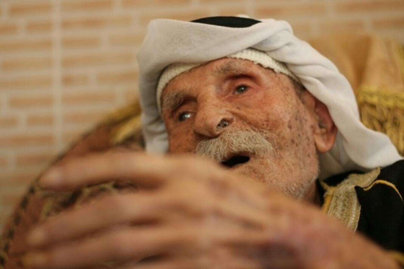 The oldest man in Gaza: 'Back in the old days, your home was