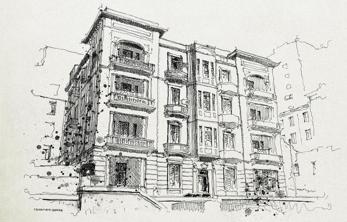 The crumbling bride of the med using pencil and paper to preserve alexandria