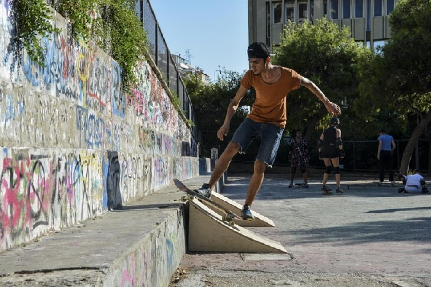 Skate Expectations How Athens Child Refugees Find Freedom On