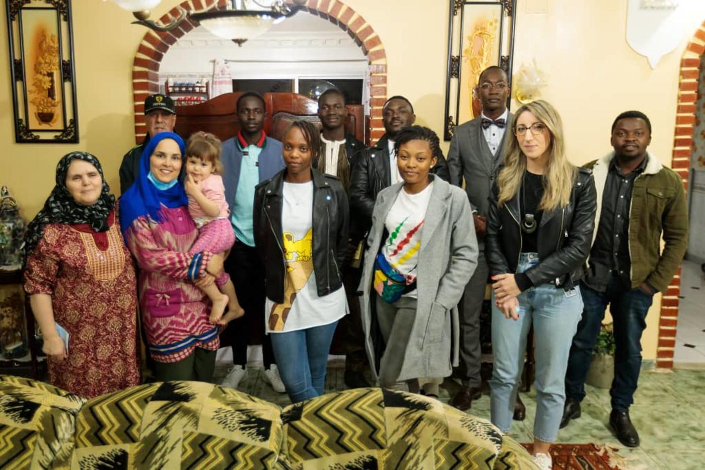 Après le Ramadan, le président de Cadenkoso projette d'organiser une réception qui réunira les familles et étudiants ayant participé à cette initiative (avec l'aimable autorisation de F'tour en familles)