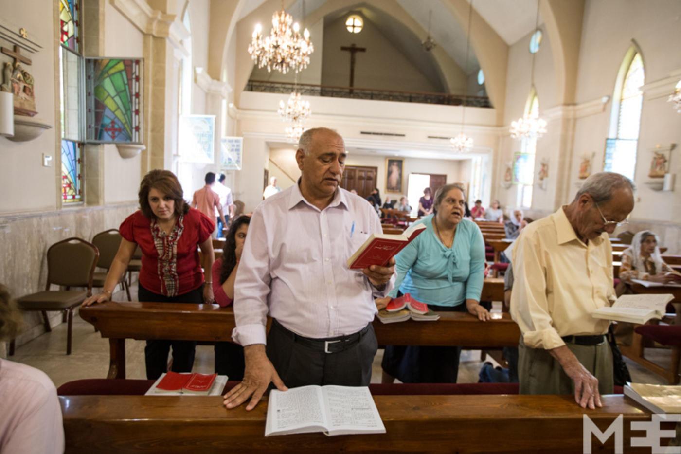 Iraqi Christians flee IS to find refuge inside Jordan churches | Middle East  Eye