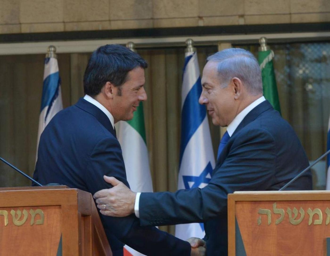 Italian PM Renzi's ode to Israel | Middle East Eye