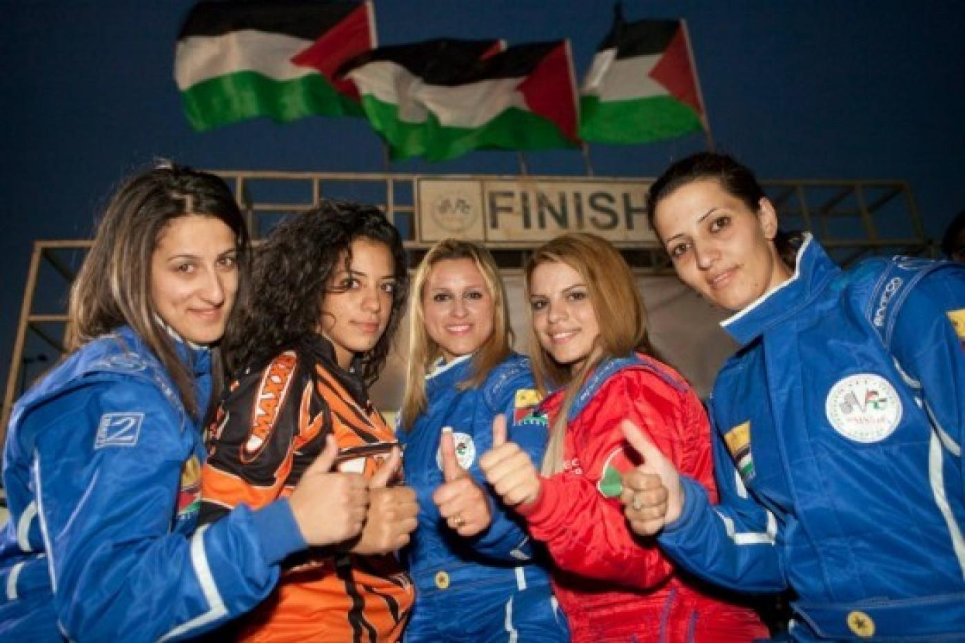 acb45408c Palestinian Speed Sisters take the wheel and race to break barriers ...