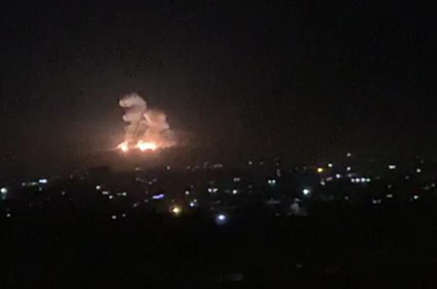 Israel bombs Damascus, killing 7, including 4 Iranians