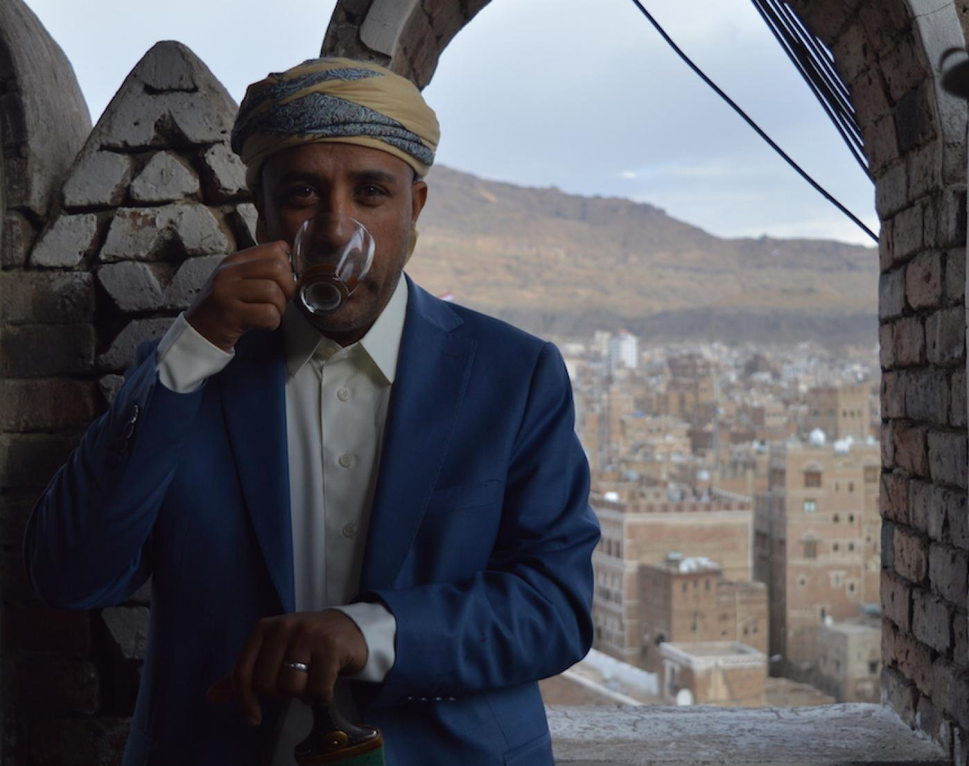 fe45b73001246 Businessman Hussein Ahmed intends to provide aficionados with Yemen s best  cup of coffee