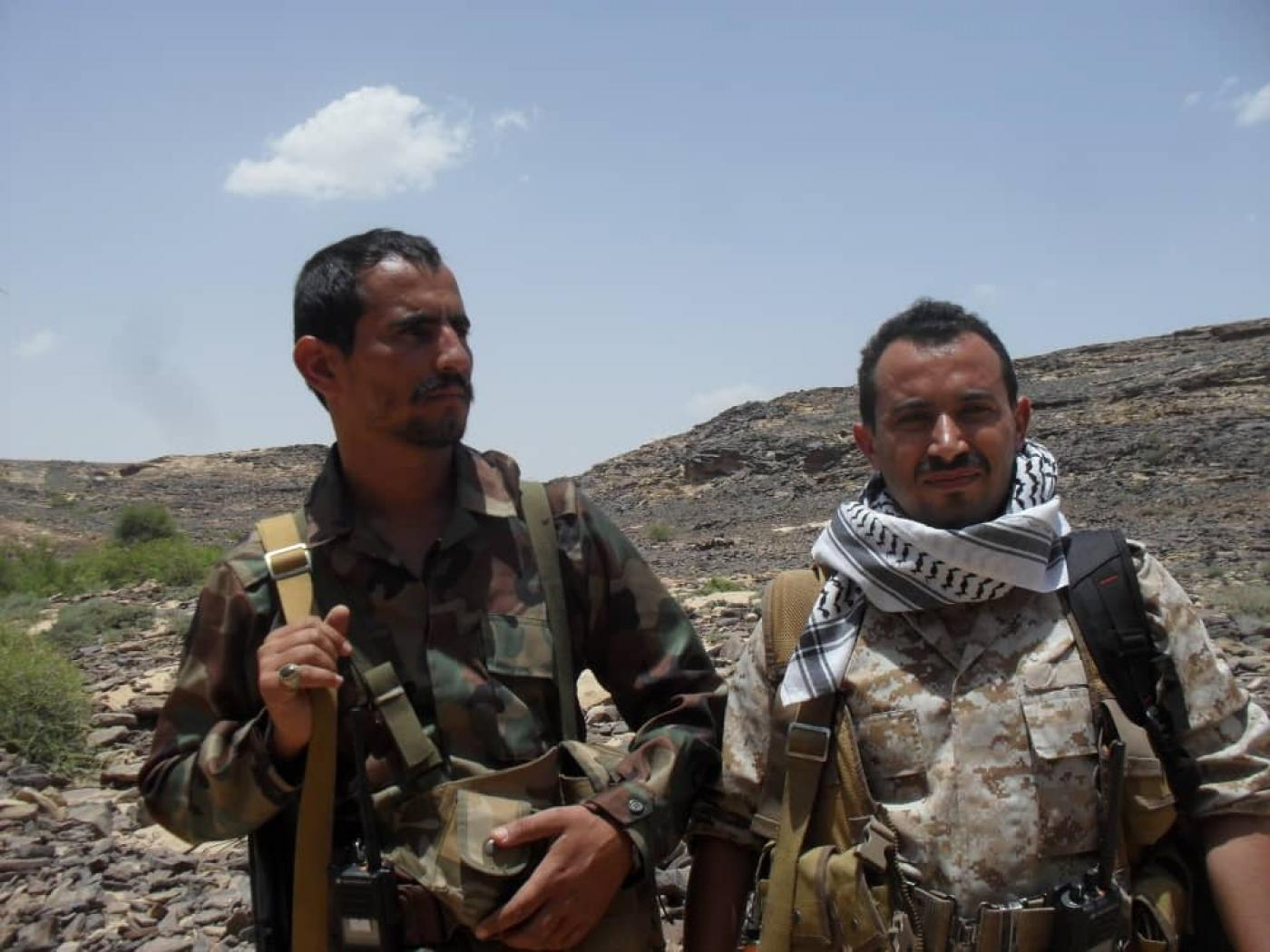 Houthi fighters