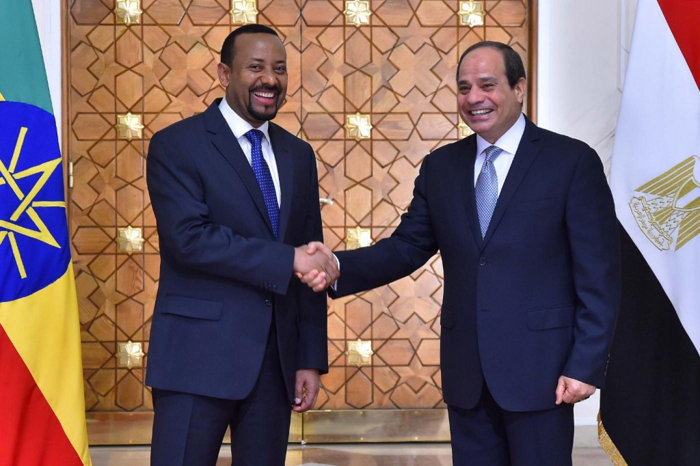 Ethiopia's Nobel-winning prime minister warns Egypt over dam project