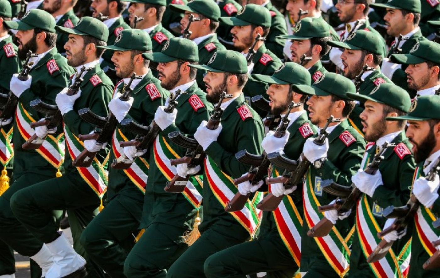 One guard dead, 5 hurt in attack on Iran revolution anniversary