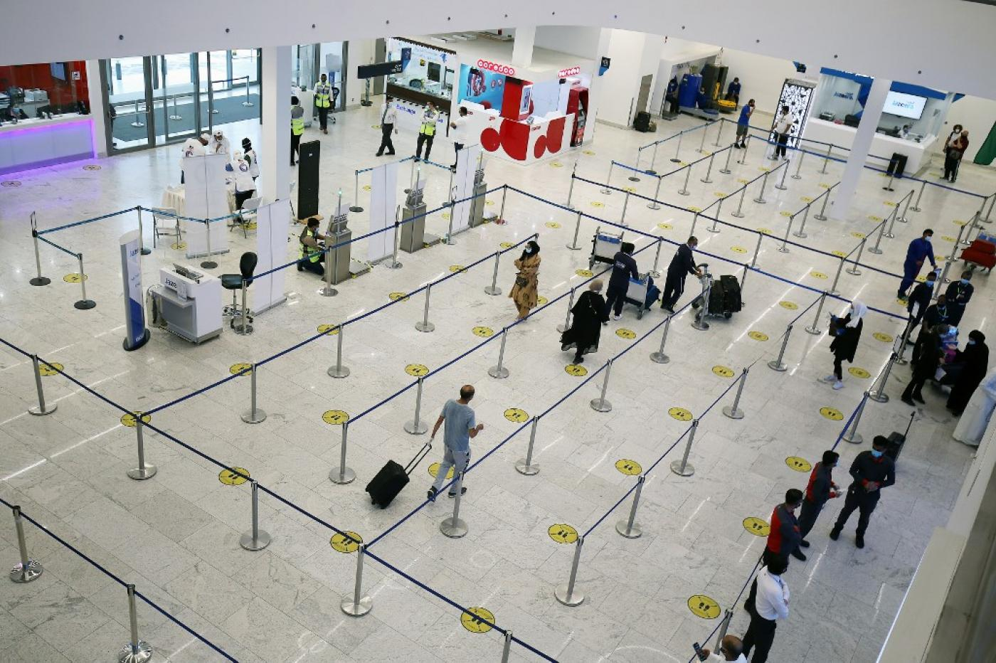 Coronavirus: Kuwait bans flights to 31 'high risk' countries