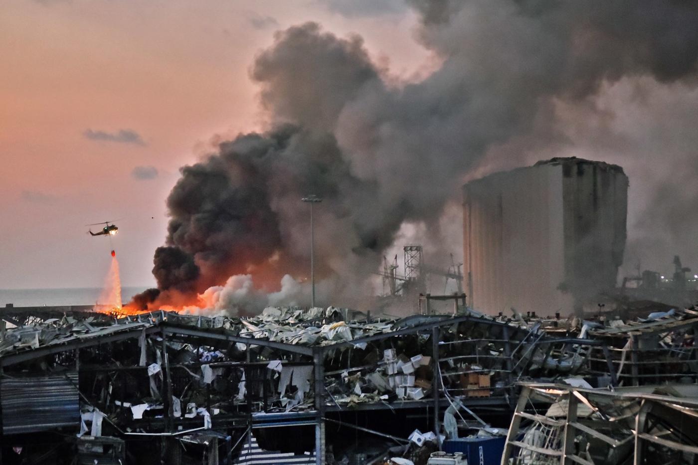 Beirut explosion: Large blast rocks Lebanese capital wounding thousands