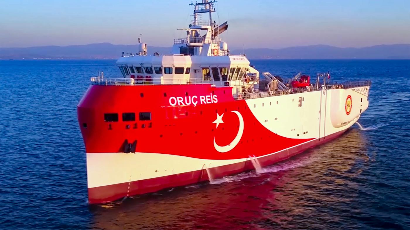 Tensions between Turkey and Greece flared when Ankara sent exploration vessel Oruc Reis to disputed waters on 10 August
