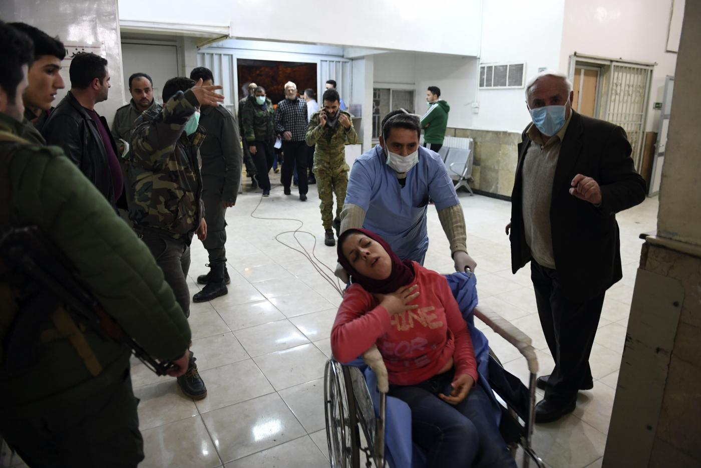 Syria's al-Assad forces accused of using chemical weapons