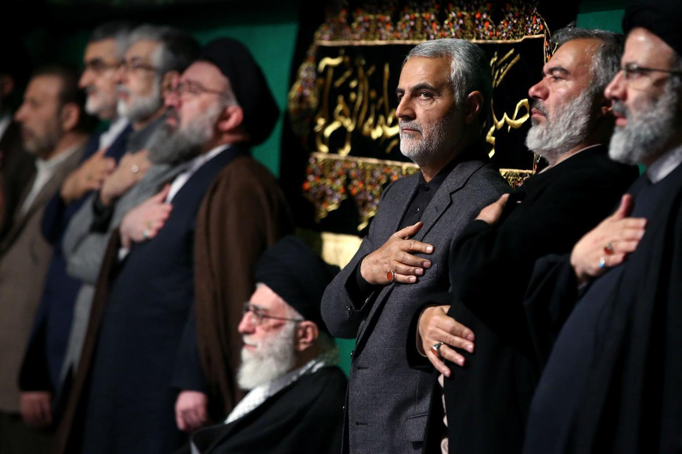 Qassem Soleimani's death has those close to him questioning whether one of their number betrayed the Iranian general (Reuters)
