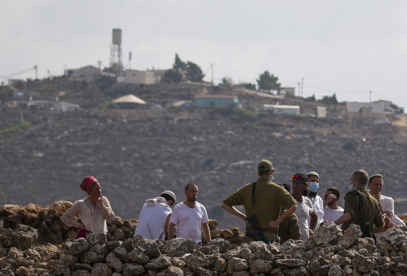 Westjordanland: Israelische Soldaten töten Palästinenser, der von Siedlern angegriffen wird
