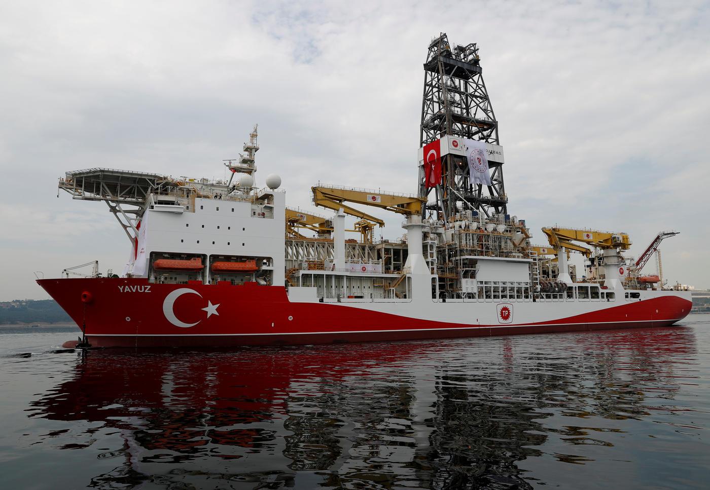 Turkish exploration ship Yavuz