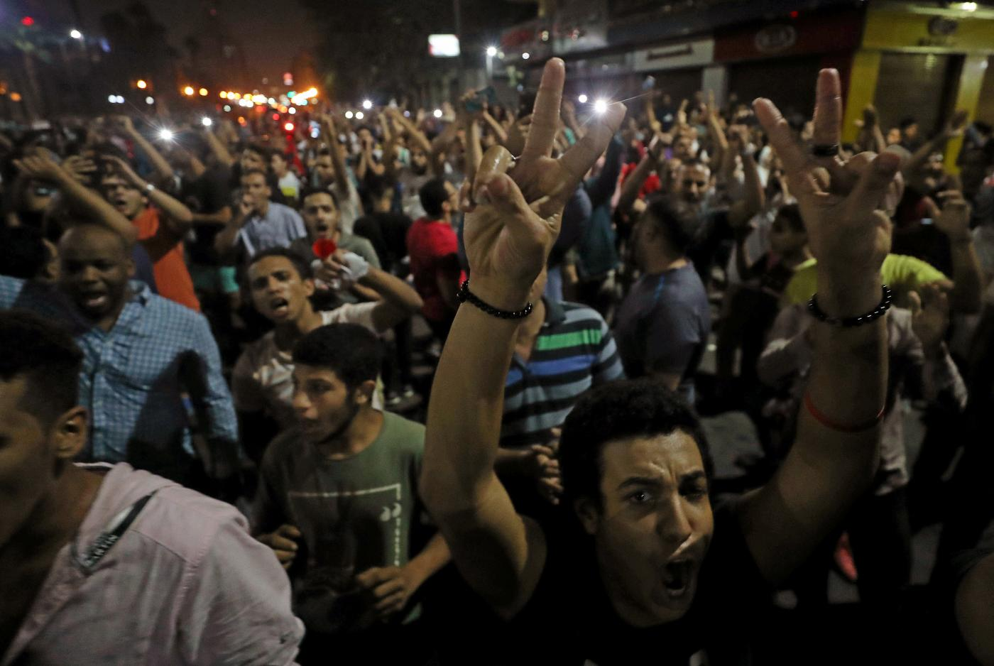Egypt protest demands president step down