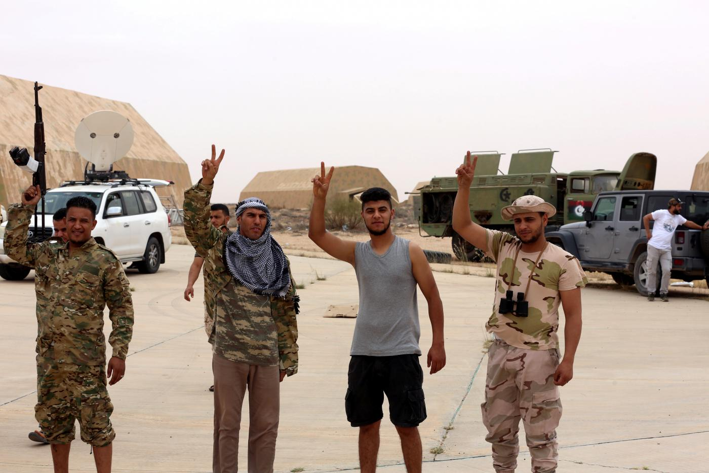 Eastern Libyan forces pull out of parts of Tripoli