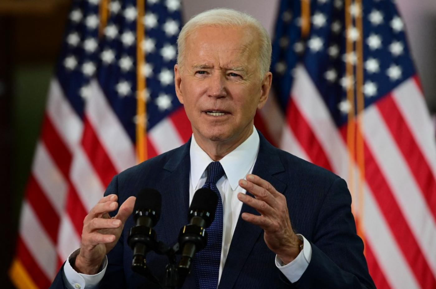 Biden backtracks on keeping Trump cap on refugees